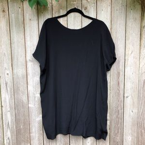 Aritzia open back shift dress
